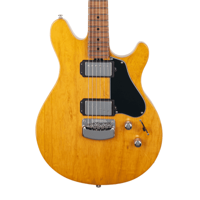 Ernie Ball Music Man Valentine Hardtail - Classic Natural with Figured Roasted Maple Fretboard