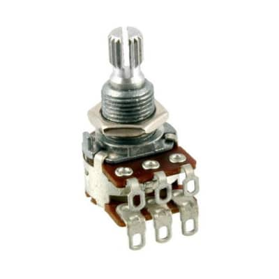 Bourns Dual 500K Pot Blend/Balance Audio Taper Potentiometer w/Center Detent