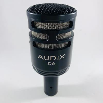 Audix D6 Dynamic Kick Drum Microphone  *Sustainably Shipped*
