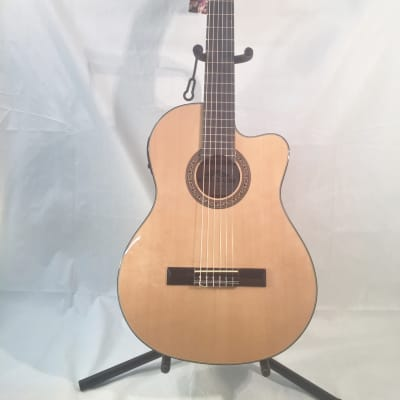 Stadium Nylon String Electric Classical Guitar-Natural-NEW! w/Shop Setup! for sale
