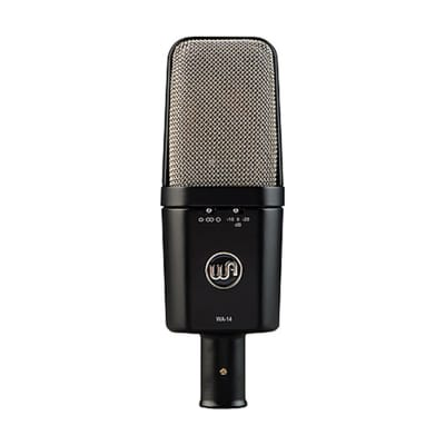 Warm Audio WA-14 Large-Diaphragm, Brass-Capsule Condenser Microphone
