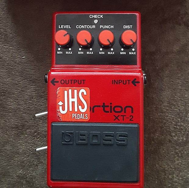 JHS Boss XT-2 Xtortion with Custom Noise Gate Mod! 1-Off Custom Personally  Modded by Josh H  S  !