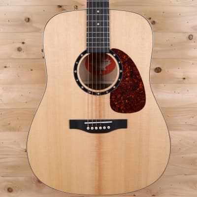 Norman B-50 Presys Solid Sitka Spruce / Layered Flame Maple Acoustic-Electric Guitar - Natural for sale