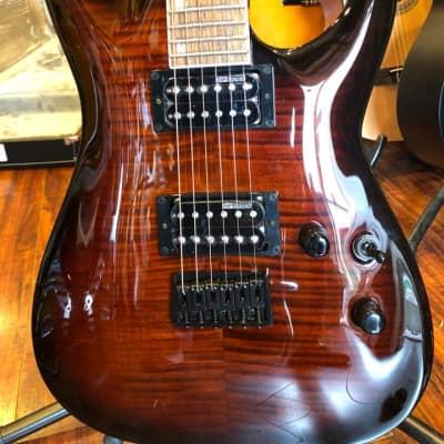 ESP LTD H-200 FM - Dark Brown Sunburst for sale
