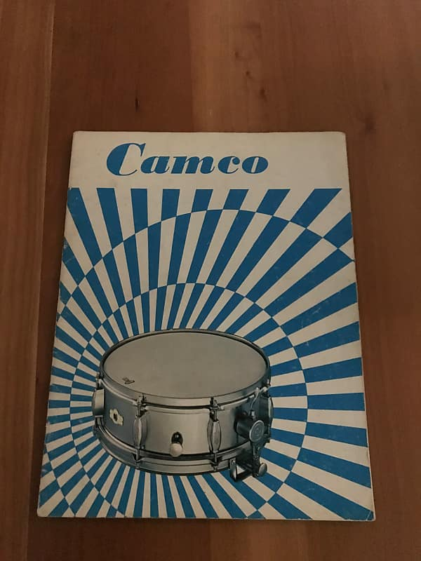 Camco Catalog Vintage Drum Sales Reverb