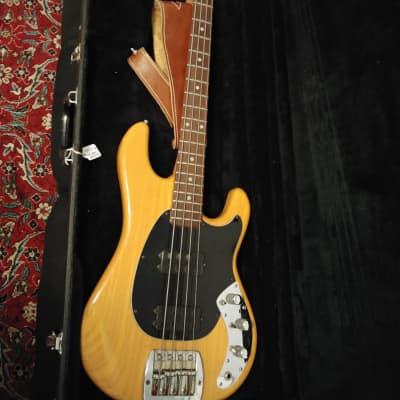 Music Man Sabre Natural Body Rosewood Fretboard 1979 Original for sale