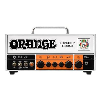 Orange Amps Rocker 15 Terror Tube Guitar Amplifier Head, 15-Watt 2-Channel
