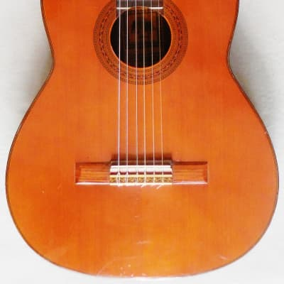 Takamine TG-001A Classical Guitar from 1970's Early Hand Made in Japan w/Case for sale