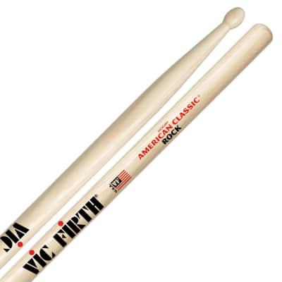 Vic Firth American Classic Rock Wood Tip Drumsticks