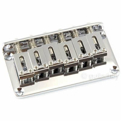 Gotoh GTC101 Non-Tremolo Hardtail Bridge 2-1/16'' spacing w/ screws - CHROME