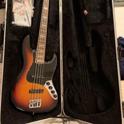 2011 Fender American Deluxe Jazz Bass Sunburst for sale