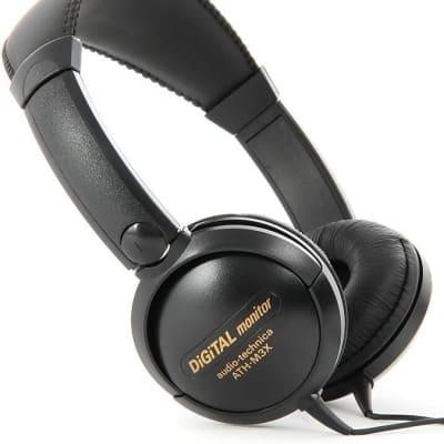 Audio-Technica ATH-M3X Mid-Size Closed-Back Dynamic Headphones