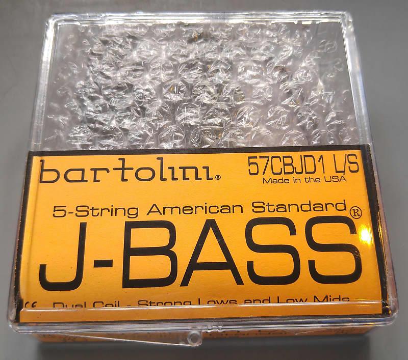 Bartolini 57CBJD1-LS 5 String Am Std Jazz Bass Pickups Low | Reverb