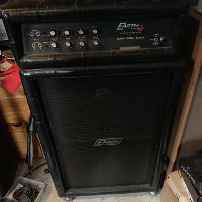 Vintage Earth Sound Research Super Bass B-2000 1970s All Tube Bass Amp with Matching Cabinet 2x15 for sale