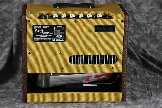 Fender FSR Blues Junior III Chocolate Tweed - 1x12