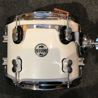 """PDP Pacific Drums Concept Maple Series-12"""" rack Tom PDCM0912ST Pearlescent White"""