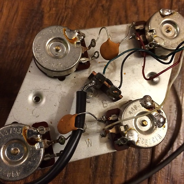 1993 Gibson Les Paul Standard wiring harness & speed   Reverb