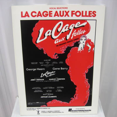 La Cage Aux Folles Musical Vocal Selections Sheet Music Song Book Songbook