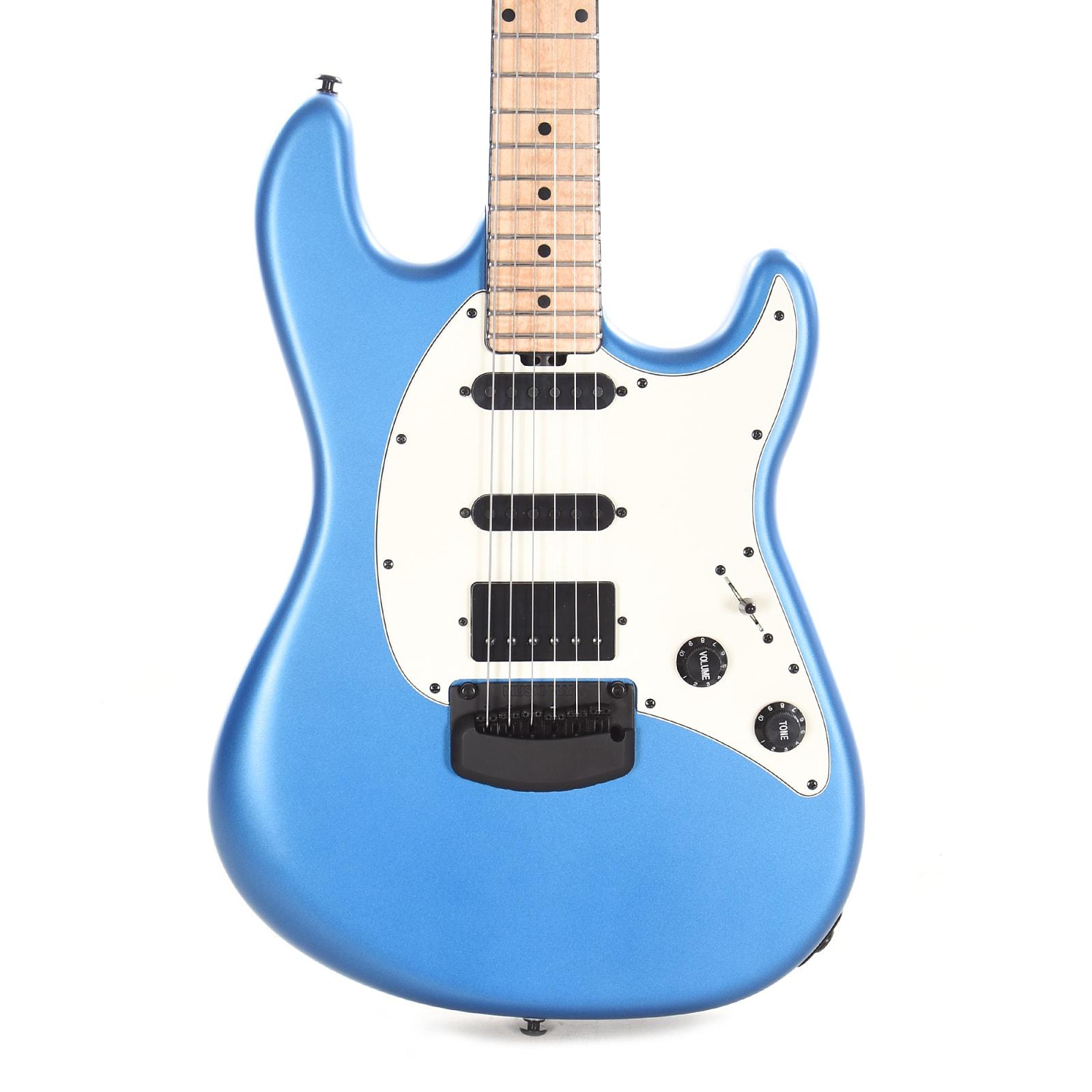 Music Man BFR Cutlass HSS Blue Magic Figured Maple Neck