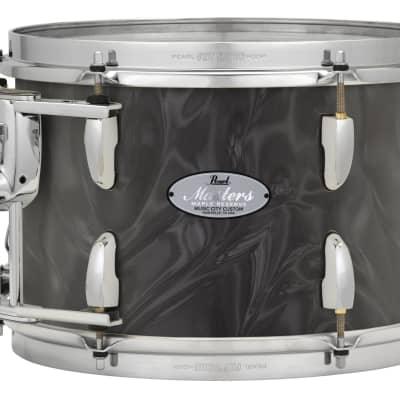 """Pearl Music City Custom 8""""x7"""" Masters Maple Reserve Series Tom Drum w/optimount MRV0807T - Shadow Grey Satin Moire"""