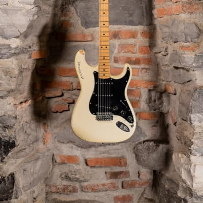 Fender Fender Stratocaster 25th Anniversary 1979 First Run Pear White Aka Screpolona for sale