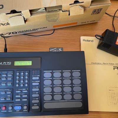 Roland R-70 Drum Machine w/New Battery