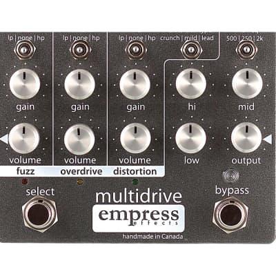 Empress Effects Multidrive Overdrive Guitar Effects Pedal Regular