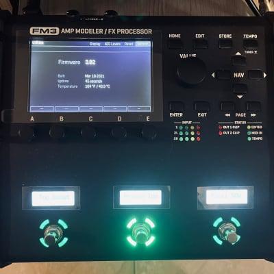 Fractal Audio FM3 Amp Modeler/FX Processor 2021 Black