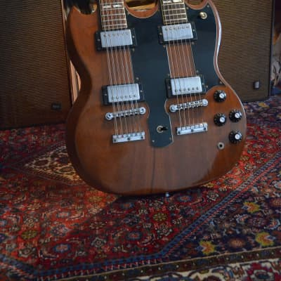 Gibson EDS-1275 1979 Walnut Doubleneck SG for sale