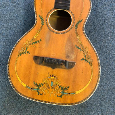 1920-30's Stromberg Voisinet Floral Parlor Guitar Project for sale