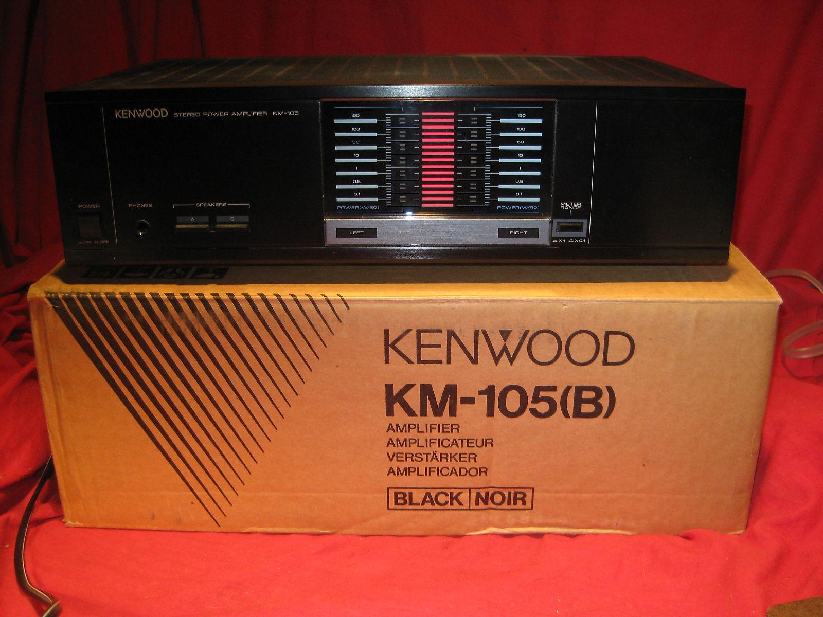 Kenwood km 105 manual on