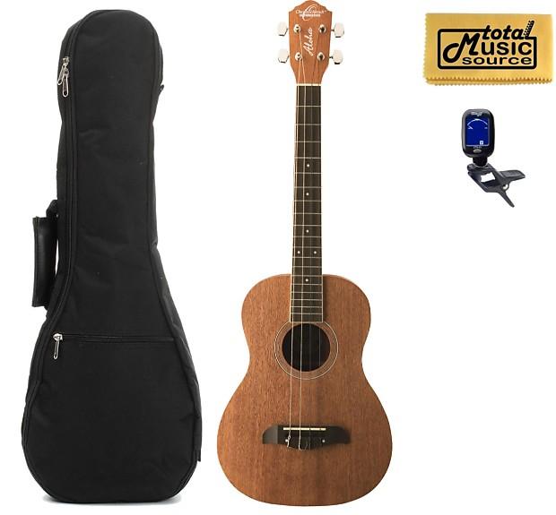 oscar schmidt ou52 baritone ukulele all mahogany w padded reverb. Black Bedroom Furniture Sets. Home Design Ideas