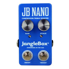 Janglebox JB Nano Compressor / Treble Booster Guitar Effects Pedal