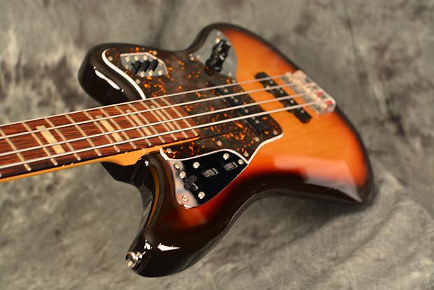 fender jaguar bass sunburst made in japan w active preamp reverb. Black Bedroom Furniture Sets. Home Design Ideas
