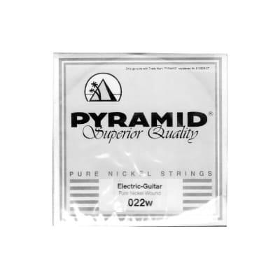 Pyramid Pure Nickel Round Core 022w Single String
