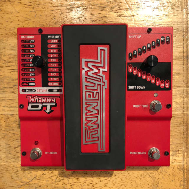 DigiTech Whammy DT Classic Pitch Shift Pedal (Demo/Floor Model) image