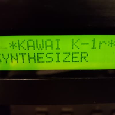 Kawai K1R Rack Module Rompler Vector Synth Digital Synthesizer - Cool Sounds!