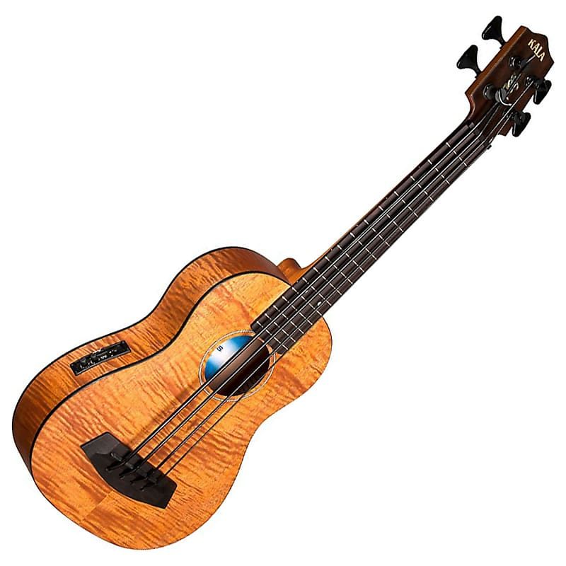 kala u bass em fs exotic mahogany u bass ukulele geartree reverb. Black Bedroom Furniture Sets. Home Design Ideas