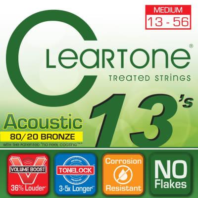 Cleartone 7613 Medium 13-56 80/20 Bronze Acoustic Strings