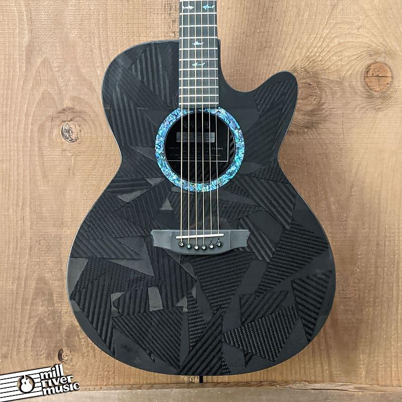 Rainsong Black Ice WS Carbon-Fiber Acoustic Electric Cutaway Guitar w/HSC