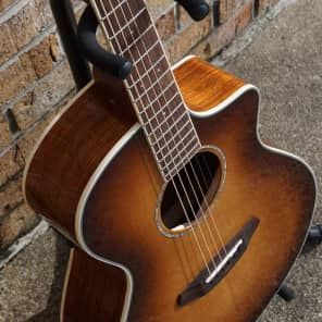 OLD STOCK Breedlove PURSUIT EXOTIC CONCERT Sitka Spruce - Australian Blackwood for sale