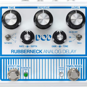 DigiTech DOD Rubberneck Analog Delay Pedal for sale
