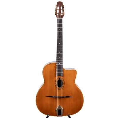 "Anton Sandner Favino Gypsy Jazz-Gitarre mit ""Petite Bouche"" 2021/ Nr.11 LF3 for sale"