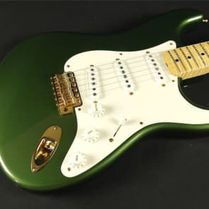 Fender Custom Shop Masterbuilt 50's Stratocaster NOS Cadillac Green by Greg Fessler for sale