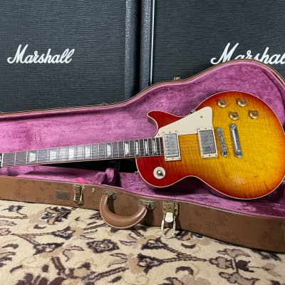 1995 Gibson Gibson Custom, Art, & Historic Les Paul R9 Washed Cherry Burst for sale