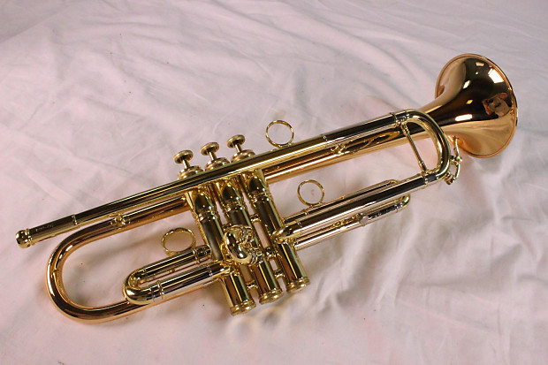 Conn 1BR Vintage One Professional Trumpet MINT ROSE BRASS BELL DEMO MODEL