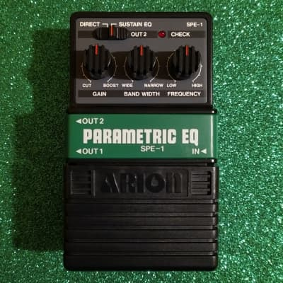 Arion SPE-1 Stereo Parametric EQ made in Japan near mint w/box for sale