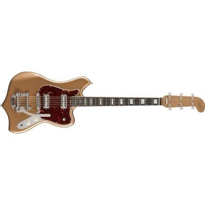 Fender Parallel Universe II Maverick Dorado Ebony Fingerboard, Firemist Gold for sale