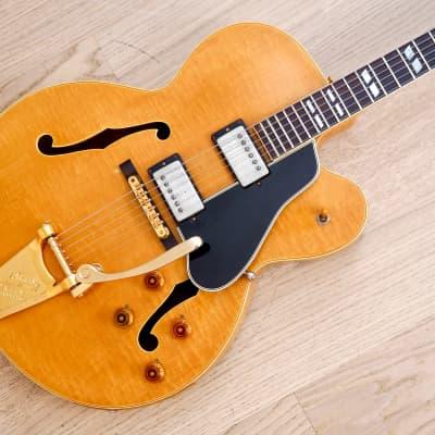 1957 Gibson ES-350T Vintage Hollowbody Guitar PAF Pickups & Bigsby, Blonde w/ Case for sale