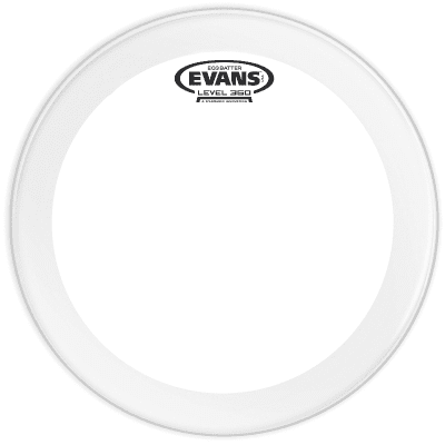 Evans BD24GB3C EQ3 Frosted Bass Drum Head - 24""